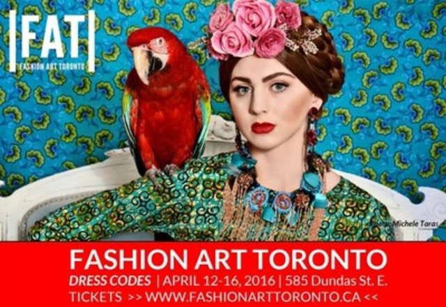 A Fashion Week Unlike Any Other: Toronto's Most Creative, Innovative & Uninhibited Runway Returns April 12-16, 2016 (CNW Group/Toronto Alternative Arts & Fashion Week)