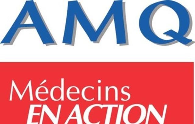 Logo Association médicale du Québec (AMQ) (Groupe CNW/Association médicale canadienne)