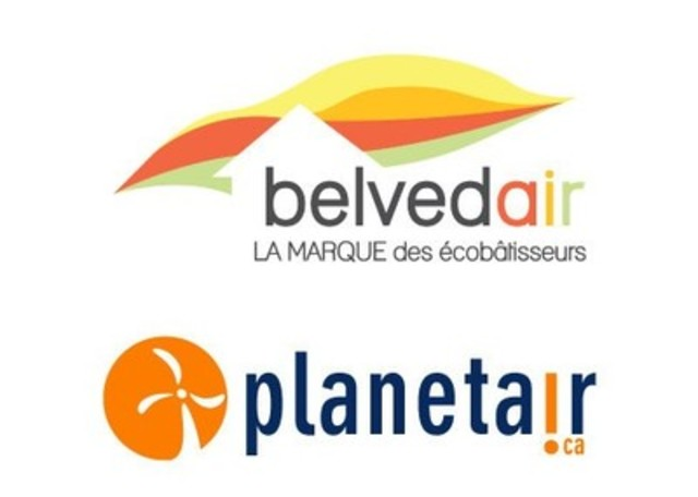 Logo : Belvedair et Planetair (Groupe CNW/Belvedair)