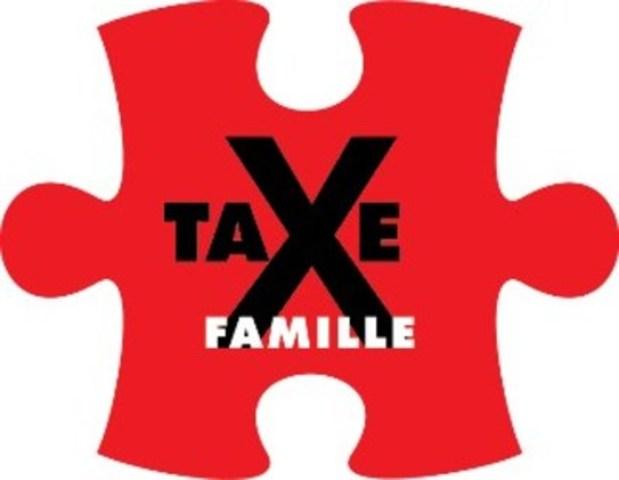 Logo: La taxe famille doit être abolie (Groupe CNW/Association québécoise des centres de la petite enfance)