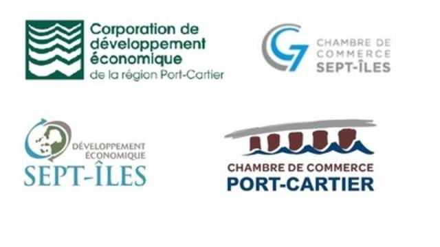 Le milieu socio-économique de Port-Cartier et Sept-Iles demande au ministre David Heurtel d'émettre le CA général pour le projet de FerroQuébec à Port-Cartier (Groupe CNW/Corporation de développement économique de la région Port-Cartier)