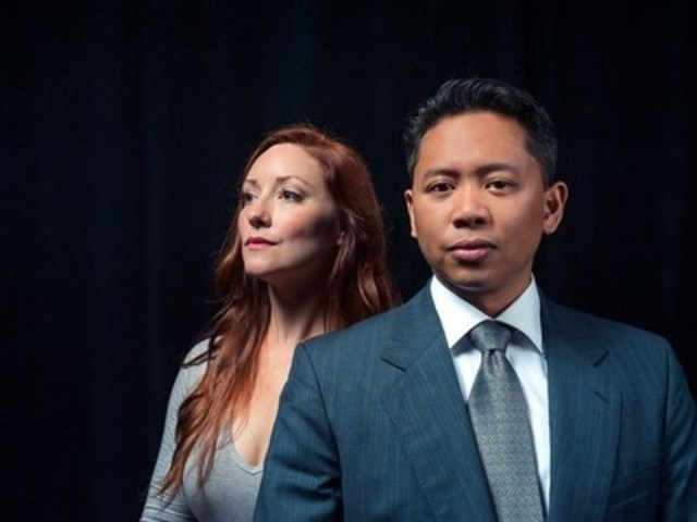 Byron Abalos and Christy Adamson are two of the five company members performing across the country in The Laurier Project (Heather Ogg photo/TechnoMedia) (CNW Group/Confederation Centre of the Arts)