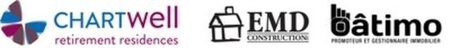 Chartwell Retirement Residences and EMD-Batimo (CNW Group/Chartwell Retirement Residences)