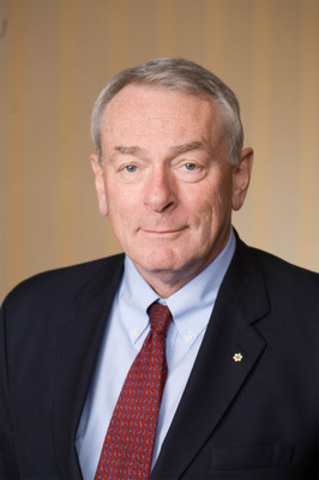 Richard W. Pound is Named Chairman of the Board of Directors of the Foundation of Greater Montreal (FGM). He succeeds Marcel Côté whose mandate ended June 15. Mr. Côté has been active within the FGM for more than ten years, and will remain active on the Board as Past Chairman. (CNW Group/FOUNDATION OF GREATER MONTREAL)