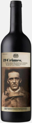 Michael Harrington, the face of 19 Crimes 2012 Shiraz Grenache Mataro blend now available in select wine regions across Canada. (CNW Group/19 Crimes)