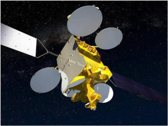 COM DEV on Board: Eutelsat 70B satellite (CNW Group/Com Dev International Ltd.)