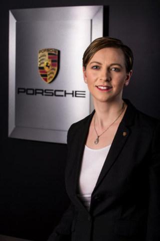 Margareta Mahlstedt-Karayiannis se joint a Porsche Canada en tant que directrice du marketing le 22 février 2016. (Groupe CNW/Automobiles Porsche Canada)