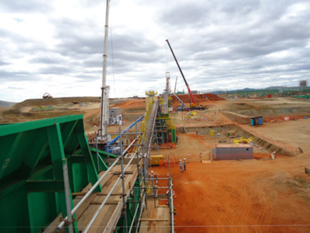 View from Primary Crusher (CNW Group/Largo Resources Ltd.)