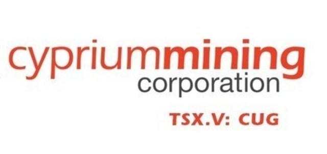 Cyprium Mining Corp (CNW Group/Cyprium Mining Corp)