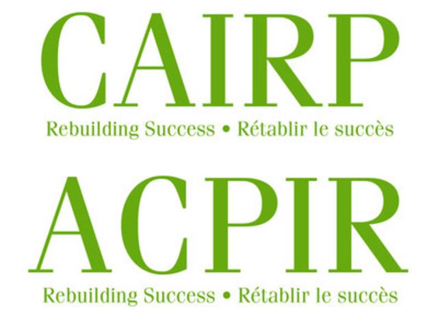 The Canadian Association of Insolvency and Restructuring Professionals / L'Association canadienne des professionnels de l'insolvabilité et de la réorganisation (ACPIR) (CNW Group/Canadian Association of Insolvency and Restructuring Professionals (CAIRP)) (CNW Group/Canadian Association of Insolvency and Restructuring Professionals (CAIRP))