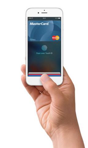 Apple Pay avec MasterCard (Groupe CNW/MasterCard Canada)