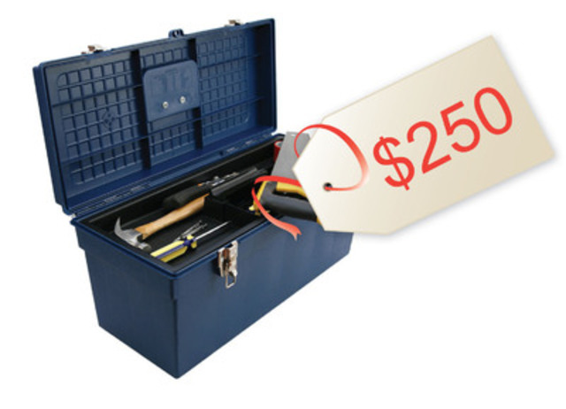 Toolbox for Renovation Essentials, $250 (CNW Group/Habitat for Humanity Canada)