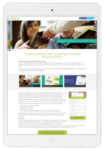 Lavu génère des pistes de qualité et accroît la notoriété de sa marque : une étude de cas du Centre de contenu (Groupe CNW/Groupe CNW Ltée)