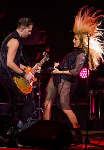 Sept 06/14 - Toronto - Ellie Goulding performs live at Toronto's Massey Hall, September 6, 2014, in a special event presented by Rdio & Toronto International Film Festival. Alex Urosevic/Shaw Communications (CNW Group/Rdio)