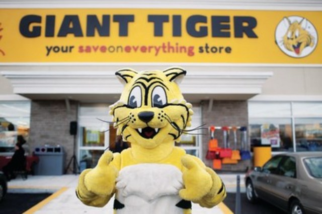 Friendly the Giant Tiger (CNW Group/Giant Tiger Stores Limited)