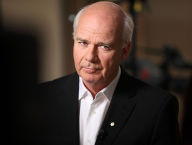 Peter Mansbridge, host of CBC's The National and Mansbridge: One on One, will host this year's CJF Awards on June 3 in Toronto. (CNW Group/Canadian Journalism Foundation)