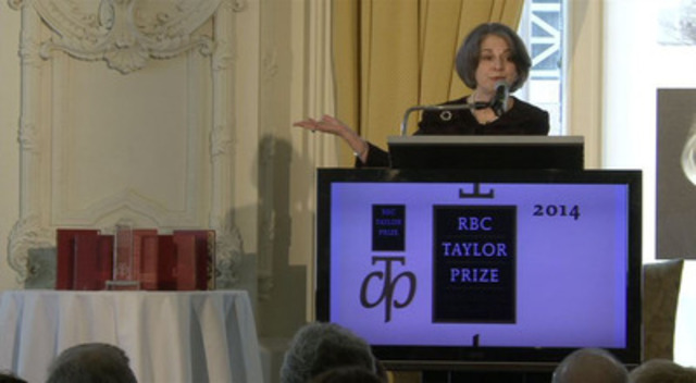 Video: RBC Taylor Prize for Literary Non-Fiction  B-roll for download