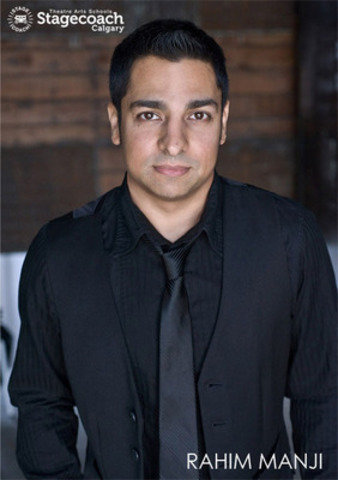 Rahim Manji, actor and teacher, is the new Principal of StageCoach Theatre Arts Calgary. (CNW Group/StageCoach Theatre Arts Calgary)