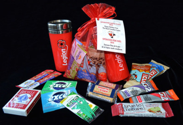 The Royal Canadian Legion Gift Bag (CNW Group/The Royal Canadian Legion Dominion Command)
