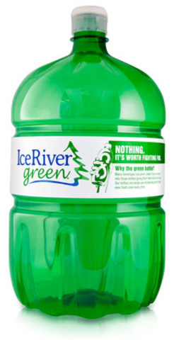 Ice River Springs has been recognized with a DuPont Awards for packaging innovation for the launch of the green 100% recycled and recyclable water cooler bottle. (CNW Group/Ice River Springs)
