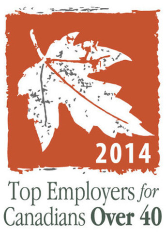 Top Employers for Canadians Over 40 (2014) (CNW Group/Mediacorp Canada Inc.)
