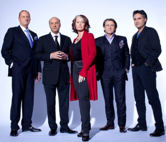Dragon's Den cast Wednesdays at 8 pm (830 pm NT) on CBC TV (CNW Group/Canadian Broadcasting Corporation)