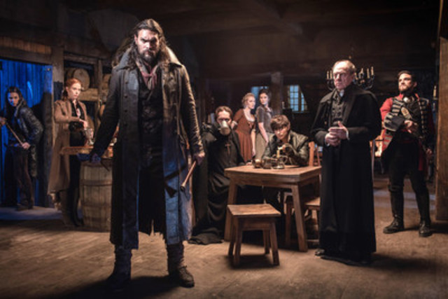 Starring Jason Momoa, FRONTIER, Discovery Canada's first original Canadian scripted drama series premieres Sunday, Nov. 6 at 9 p.m. ET/6 p.m. PT. (CNW Group/Discovery)