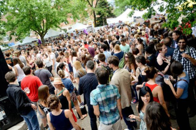 Lunch Beat Montréal au Parc des Amériques en juin 2013 (Groupe CNW/Lunch Beat Montréal)