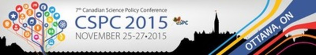 7th Canadian Science Policy Conference (CSPC 2015) (CNW Group/Canadian Science Policy Centre)