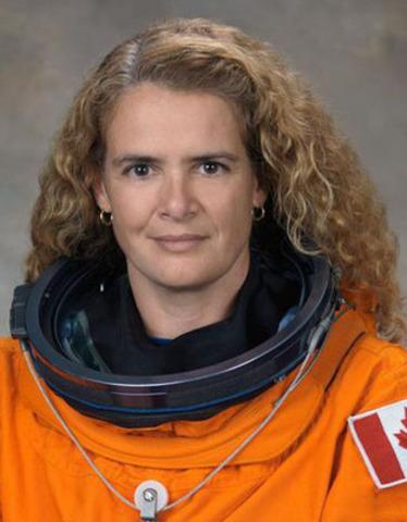 L'astronaute Julie Payette a été nommée Directrice du Centre des sciences de Montréal. (Groupe CNW/Société immobilière du Canada)