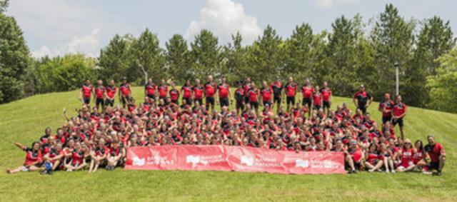 Plus de 125 000 $ amassés lors du 5e Tour cycliste Présents pour les jeunes de la Banque Nationale (Groupe CNW/Banque Nationale du Canada)