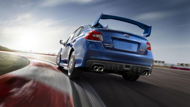 2015 Subaru WRX STI (CNW Group/Subaru Canada Inc.)