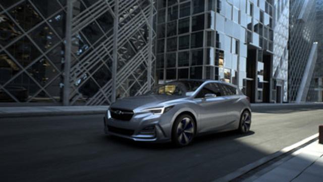 Ce concept Impreza 5 portes donne un aperçu de l'Impreza nouvelle génération. (Groupe CNW/Subaru Canada Inc.)