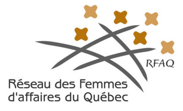 Logo: Réseau des femmes d'affaires du Québec (RFAQ) (Groupe CNW/Réseau des Femmes d'affaires du Québec Inc.)
