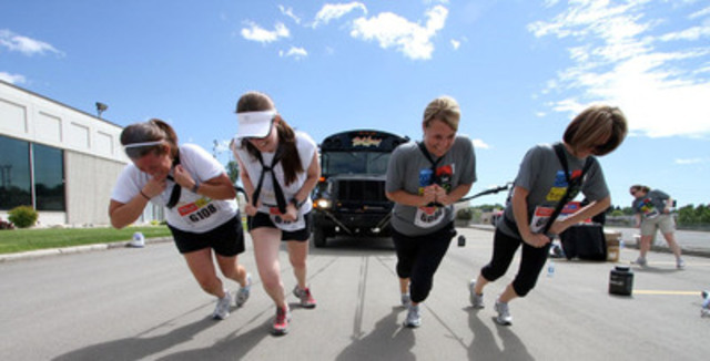 City Chase Canada is back for its 11th annual races in Toronto and Ottawa and is teaming up with Children's Wish to help grant wishes. (CNW Group/The Children's Wish Foundation of Canada)
