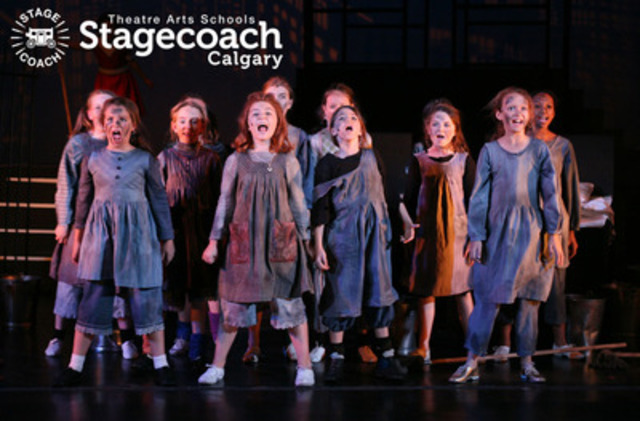 Many young people have experienced and enjoyed the training they've received from StageCoach Theatre Arts and have gone on to further their education at college and on the professional stage. (CNW Group/StageCoach Theatre Arts Calgary)