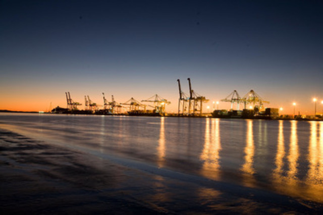 The Port of Brisbane is Australia's third-largest container port. Each year, the port handles international  ...