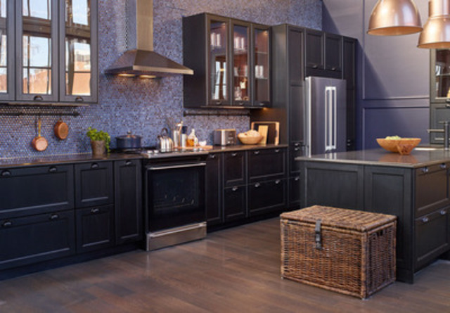 New IKEA SEKTION kitchen designed for Scott McGillivray at IKEA's House of Kitchens  (CNW Group/IKEA Canada)