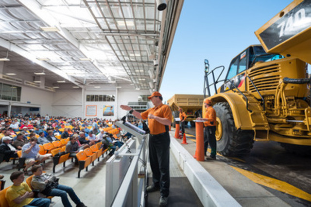 In 2013, Ritchie Bros. sold equipment for more than 43,000 sellers, and registered more than 425,000 potential buyers. (CNW Group/Ritchie Bros. Auctioneers)