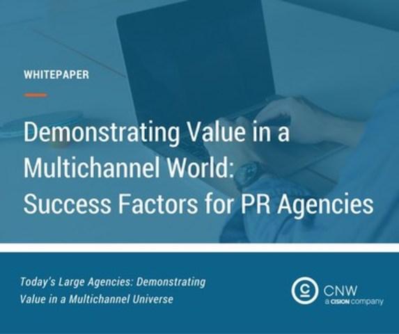 Success factors for PR agencies (CNW Group/CNW Group Ltd.)