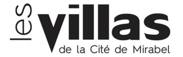 Logo : Les Villas de la Cite de Mirabel (Groupe CNW/Investissement Ray Junior inc.)