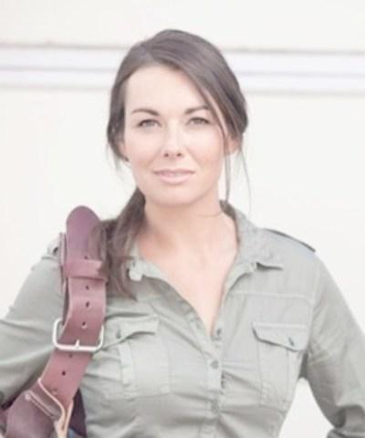 Kayleen McCabe, animatrice de télévision sur la chaîne DIY Network, spécialiste de la rénovation  et porte-parole des métiers spécialisés. (Groupe CNW/Skills/Compétences Canada)