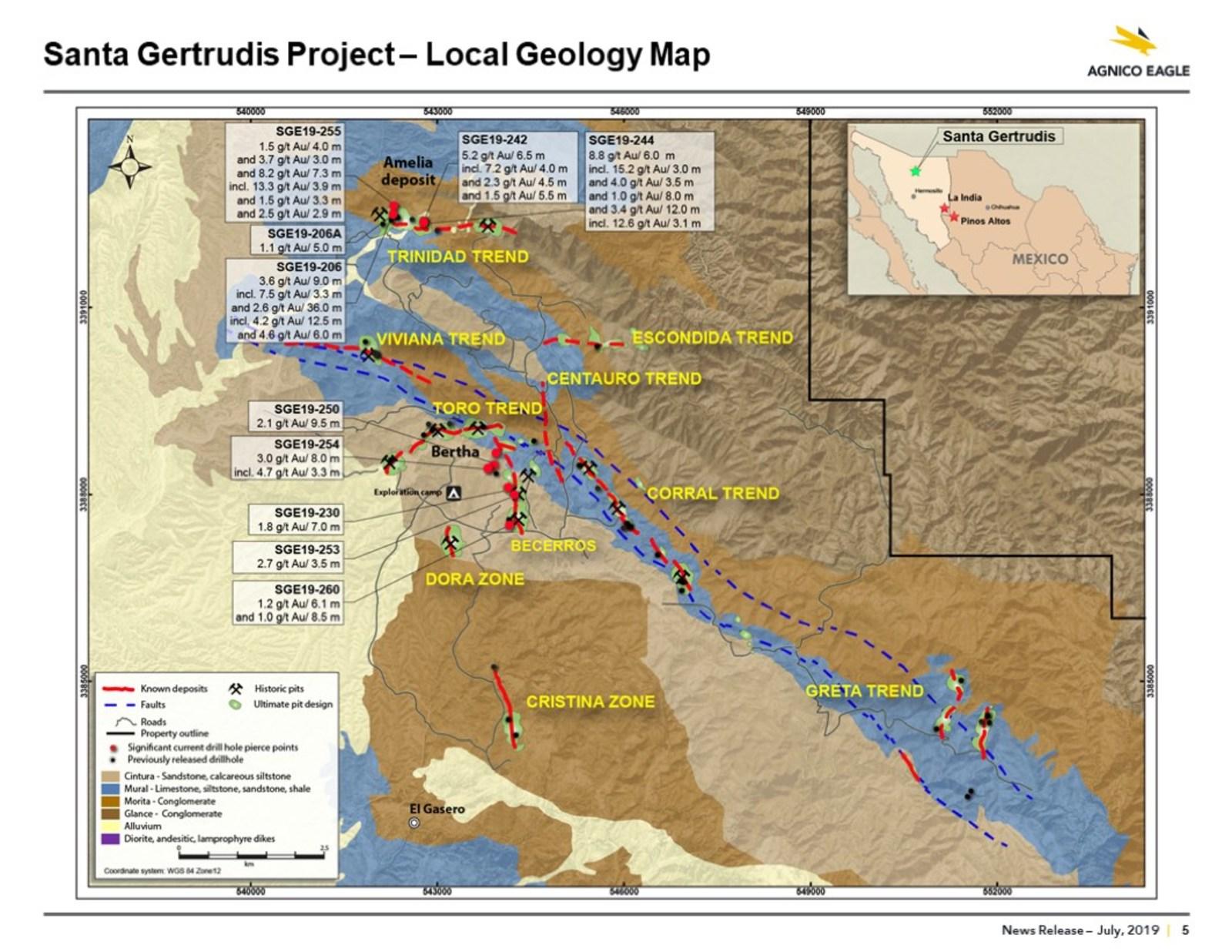 Santa Gertrudis Map
