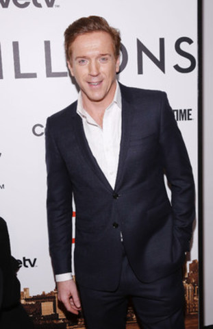 Emmy and Golden Globe-winner Damian Lewis attends the premiere of the new SHOWTIME drama BILLIONS, January 7 at MoMA in New York (CNW Group/CraveTV)