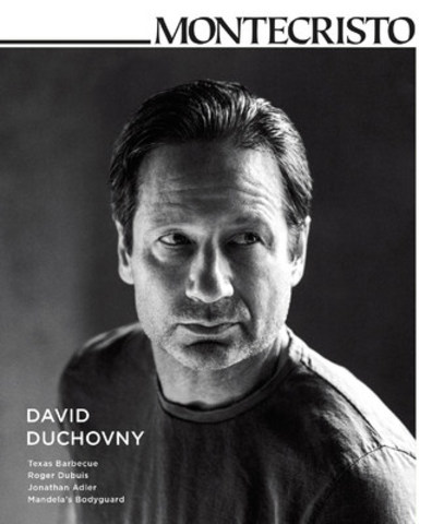"""""""The X-Files"""" star sits down with MONTECRISTO to discuss his acting career and newfound passion as a singer/songwriter. Whether it's acting in a TV series, writing, or performing songs, """"you're telling a story or you're entertaining people—or both, hopefully,"""" says Duchovny. www.montecristomagazine.com (CNW Group/MONTECRISTO Magazine)"""