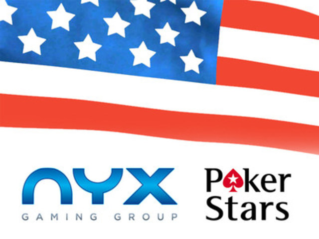 NYX slot games live on pokerstarsnj.com (CNW Group/NYX Gaming Group Limited)