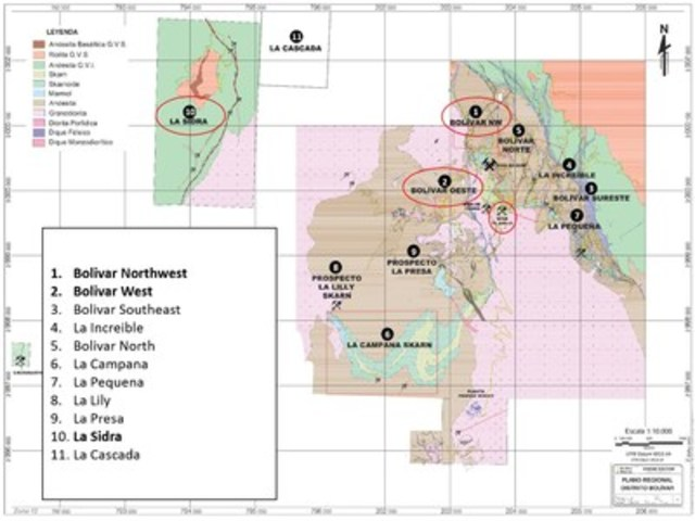 Figure 4 – Overview Bolivar Mine (CNW Group/Sierra Metals Inc.)