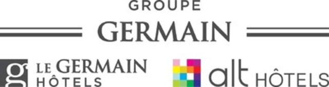 Logo : Groupe Germain Hôtels (Groupe CNW/Groupe Germain Hôtels)