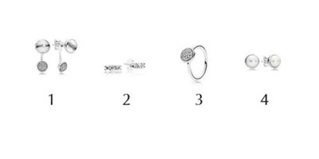 Extraits de la collection Automne 2016 (Groupe CNW/PANDORA Jewellery)