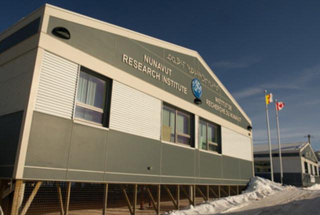 L'Institut de recherche du Nunavut (Groupe CNW/Chantiers Maritimes Irving Inc.)
